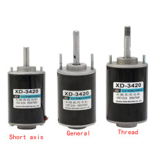 3420,12V Permanent Magnet DC Motor,24V High Speed Motor,30W Miniature Motor,DC Regulating Motor