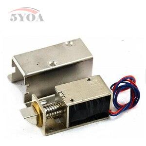 Image 1 - Elektromechanische Lock Micro deur operator Kleine elektrische sloten ladeblok elektronische sloten Automatische Toegangscontrole