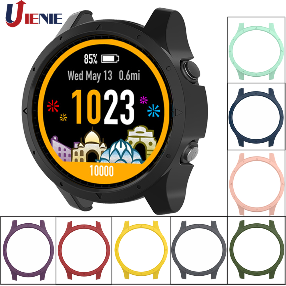 PC Protective Case Cover For Garmin Forerunner 935 945 Smart Watch Bracelet Dial Cases Anti-scratch Shockproof Protector Shell