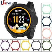 Capa protetora para smartwatch garmin forerunner, proteção à prova de choque para relógio inteligente 935 945, capa protetora anti-arranhão para pulseira
