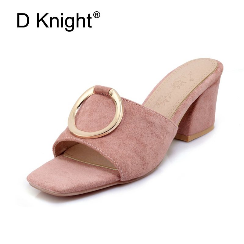 Metal Decoration Mules Summer Sexy High Heels Platform Shoes Woman Slippers Slip On Slides Pumps Fashion Women Lady Shoes White 2018 new summer fashion roman metal decoration women pumps shoes sexy high heels crystal with gladiator woman sandals