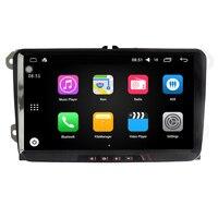 9 дюймов Android 6,0 dvd плеер автомобиля gps навигации для VW/Volkswagen Tiguan Поло Гольф Passat B6 Jetta жук CC автомобиль, Радио стерео