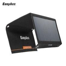 Easyacc 15 w cargador usb de $ number puertos con panel solar de alta eficiencia de sunpower solar para iphone, sí galaxy s6/s6 edge nexus 6, iphone