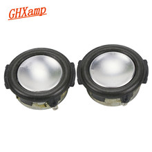 GHXAMP 1.25 INCH 1 inch 4Ohm 3 W Mini Speaker 31mm Busa sisi Penuh Rentang Suara Midrange bass MP3 Speaker Putaran 1 Pairs(China)