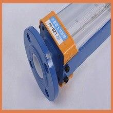 DN40 LZB-40 glass rotameter flow meter for gas. flange connection,LZB40 (160-16000L/h or 250-2500Lh) Tools flowmeters lzb 15 glass rotameter flow meter for liquid and gas flange connection