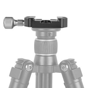 Image 5 - Andoer CL 70N アルミ合金 70 ミリメートルクイックリリース QR プレートクランプ 3/8 インチ w/1/4 インチアダプタ & バブルレベルアルカスイス Benro