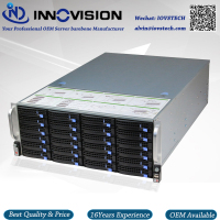 Stable Huge Storage 24 Bays 4u Hotswap Rack NVR NAS Server Chassis S46504