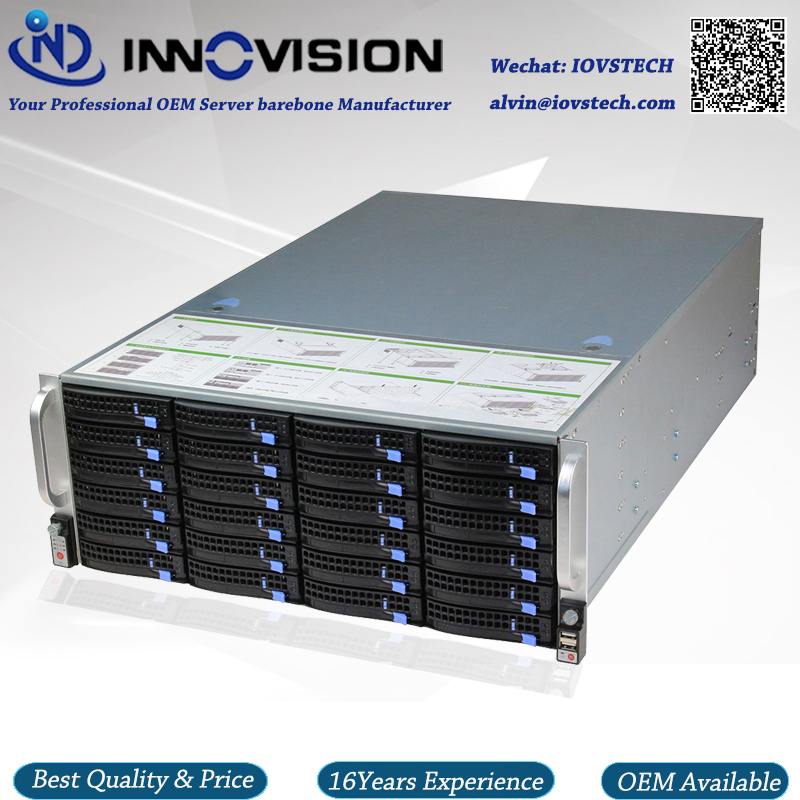Super huge storage 24 bays 4u hotswap rack NVR NAS server chassis S46524 stable huge storage 16 bays 3u hotswap rack nvr nas server chassis s36504