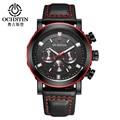 OCHSTIN Fashion Military Chronograph Mens Watches Top Luxury Brand Males Quartz Clock relogio masculino Men's Business Watch