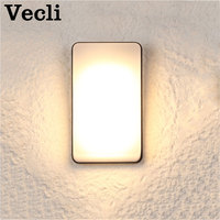 Outdoor led simple modern wall lamp waterproof super bright courtyard door light