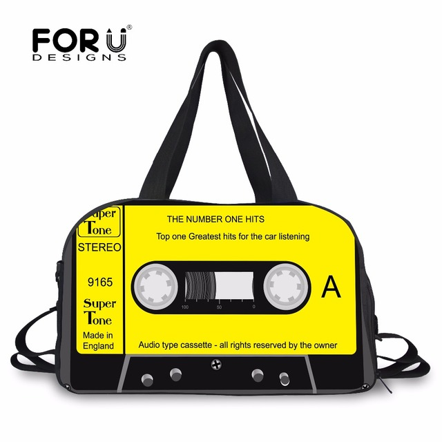 2ac3d28fc0 FORUDESIGNS Multifunction Men Travel Bag Magnetic Tape Design Luggage  Travel Bag Male Cotton Travel Duffle Bag