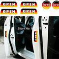 6 х Новый Флаг Германии Стиль Предупреждения Двери Автомобиля Наклейки автомобиль Задний Багажник Предупредительные Наклейки для Volkswagen Audi BMW Benz Opel