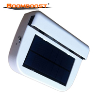 Solar powered Fan Car window auto Ventilator Cooler fan Air Vehicle Radiator