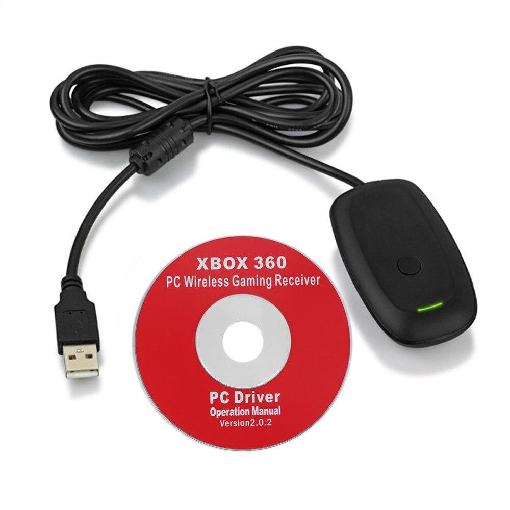 Neueste PC Wireless Controller Gaming Receiver USB-Adapter Für Microsoft XBOX 360 Konsole Gamepad Adapter für Windows XP/7 /8