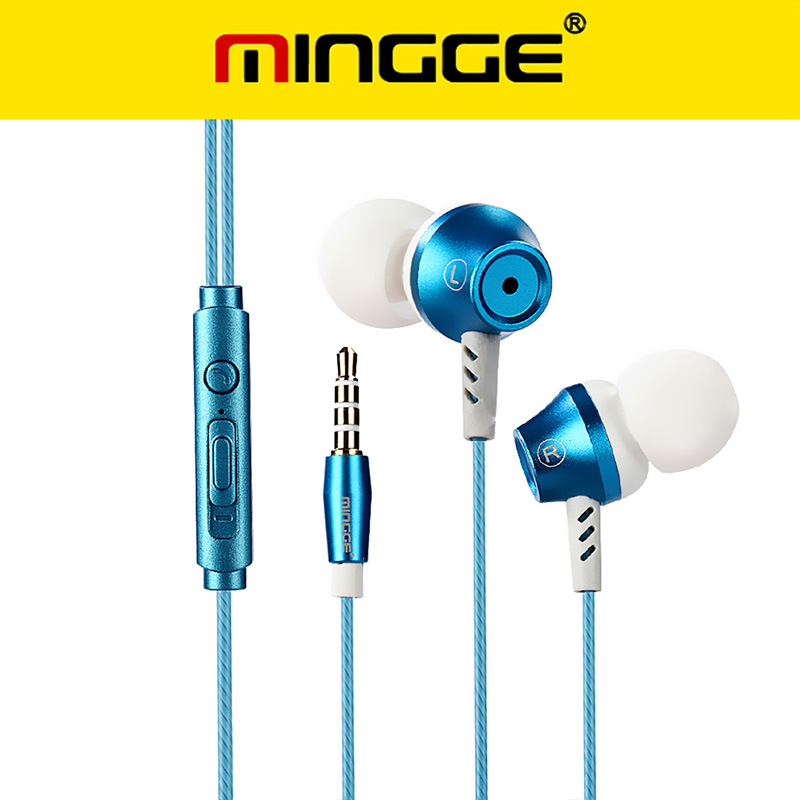 Universal Earbuds M9 Original Earphone for Mobile Phone MP3 in Ear Headphones Bass Headset with Microphone Stereo Earphones original mrice e300 3 5mm jack in ear earphone earbuds computer tablet phone universal headset earbuds in stock