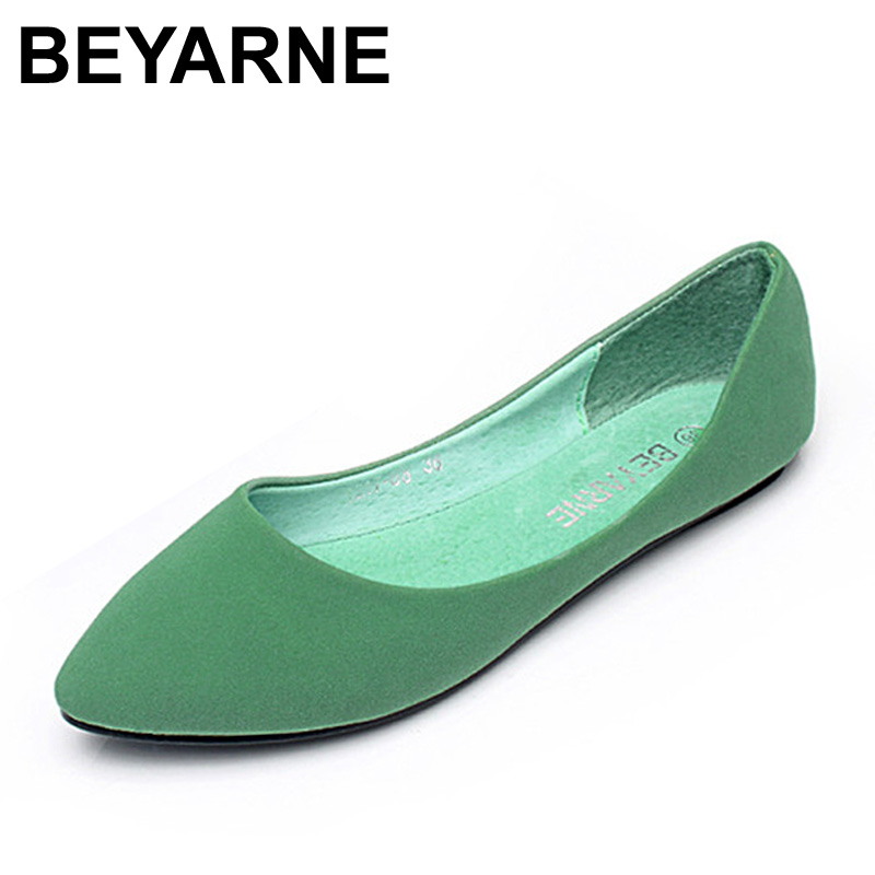BEYARNE new spring and Summer women Flats shoes women pafty shoes candy color shoes have size 35-41,free shipping beyarne new spring and summer women flats shoes women pafty shoes candy color shoes have size 35 41 free shipping