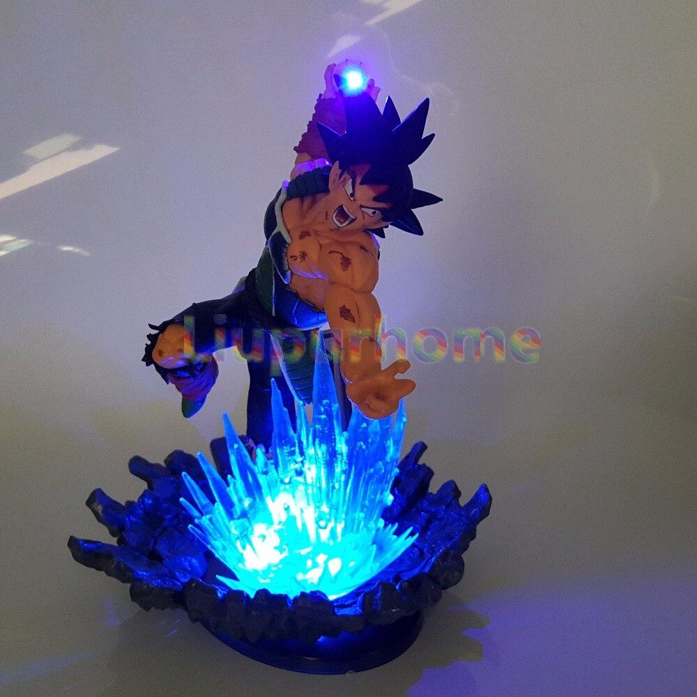 Lights & Lighting Dragon Ball Z Broly Led Light Green Fire Power Base Dragon Ball Super Action Figure Dbz Broly Broli Decor Light Christmas Gifts Discounts Sale