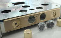 Power Amplifier Chassis Stainless Steel Perforated Casing DIY Chassis 370mm 280mm 80mm 1piece DIY For 300B