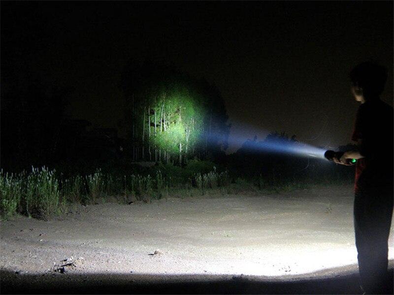 Fumat 8000 lúmen 7800 mah lanterna xenon ultra brilhante 85 w/65 w/45 w + sos/strobe caça acampamento ao ar livre tocha hid xenon lanterna - 4