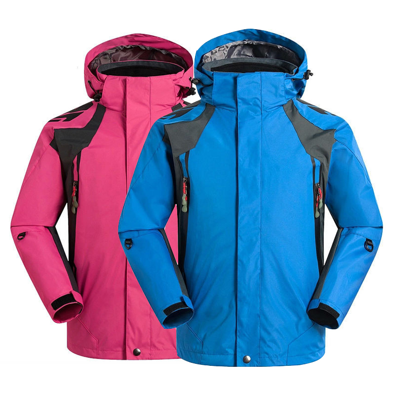 2018 Children Sports Wear Boys Girls Outdoor Breathable Windproof 2 Layer Camping hiking Ski Jacket Kids