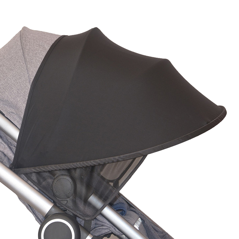 Baby Stroller Sun Visor Carriage Sun Shade Canopy Cover for Prams Stroller Accessories Car Seat Buggy Pushchair Cap Sun Hood(China)