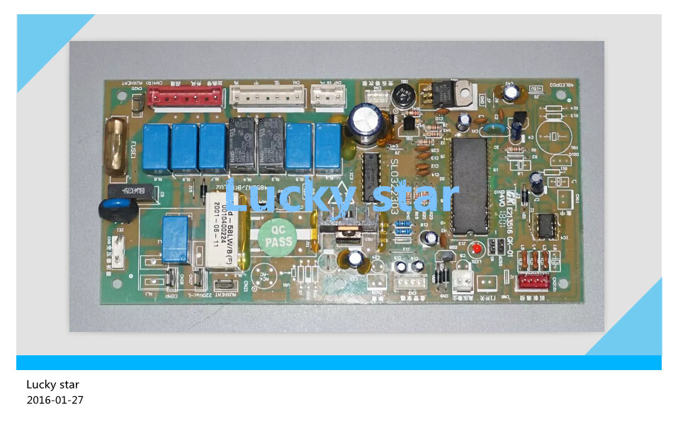 95% new for Haier Air conditioning computer board circuit board KFRd-58LW/BF 0010400224 good working цена