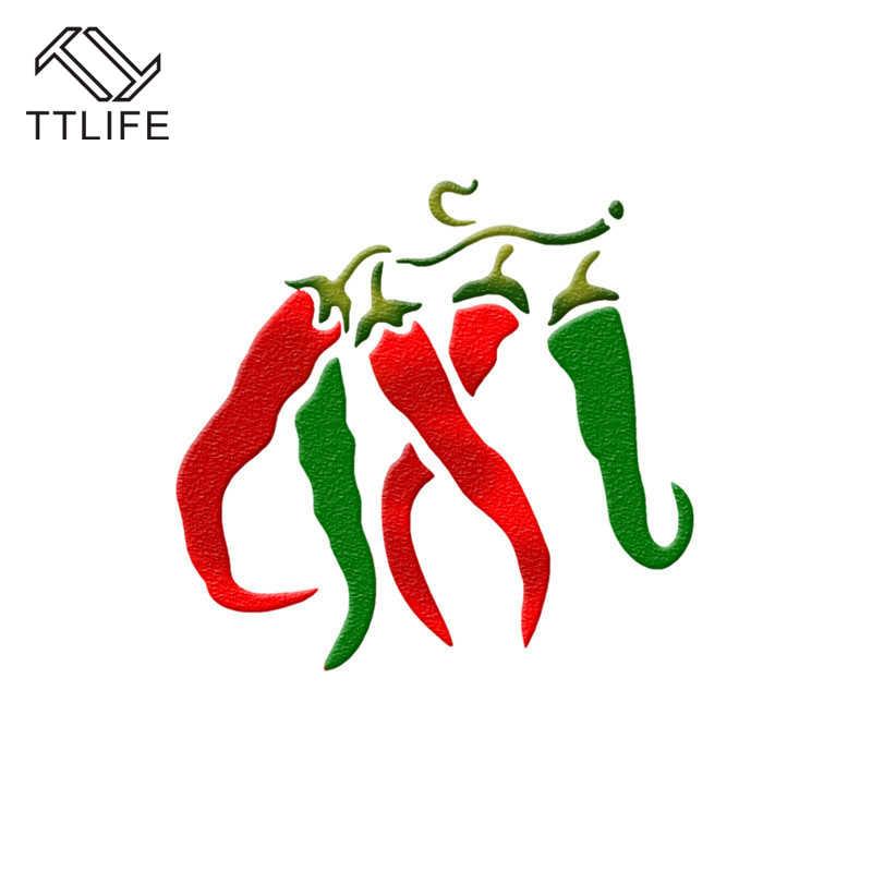 TTLIFE รูปร่างผักกาแฟ Latte Cappuccino นักชงกาแฟอาร์ต Stencils เค้ก Duster แม่แบบบาริสต้ากาแฟตกแต่งแกะสลักเครื่องมือ