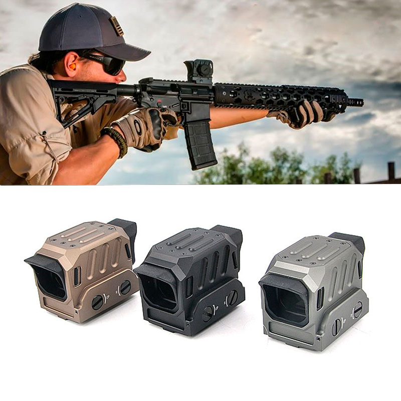 Tactical Rifle Scope DI Optical Red Dot Sight Reflex Holographic Sight for 20mm Rail Hunting optical fc1 red dot sight reflex sight holographic sight for 20mm rail hunting rifle