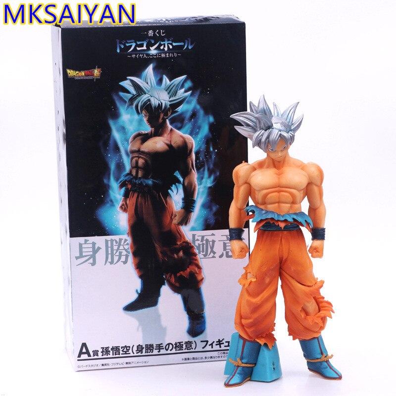 New Anime Dragon Ball Z Ultra Instinct Goku PVC Action Figure Figurine Toy Gift