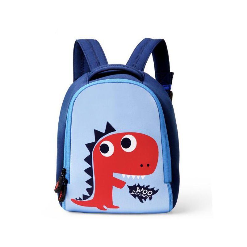 56e3558bcb Fashion children backpack cartoon printing animal school bags for girls boys  cute kindergarten kid Dinosaur backpacks Baby Bags