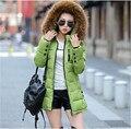 Europa 2016 inverno nova moda High end desgaste de mulheres para baixo casaco elegante temperamento magros grandes estaleiros jaqueta de inverno para baixo casaco T0337