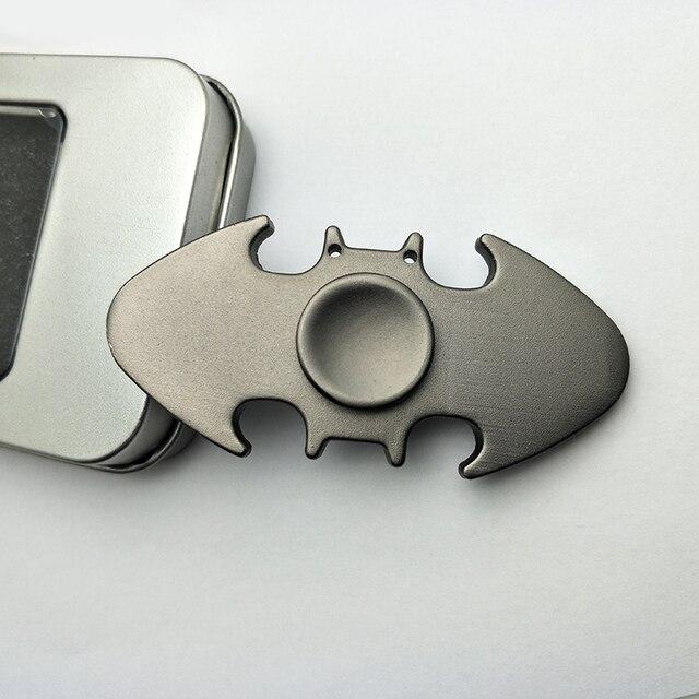 New Batman Fidget Spinner Edc Finger Alloy Bat Hand Spinner Metal