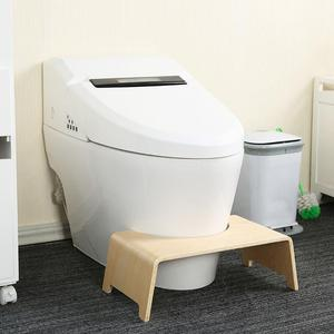 Toilet Seat Footstool Household Toilet Stool Anti-Skid Heightened Thickened Stool L Foot Stool For Kid Pregnant Women Old People(China)