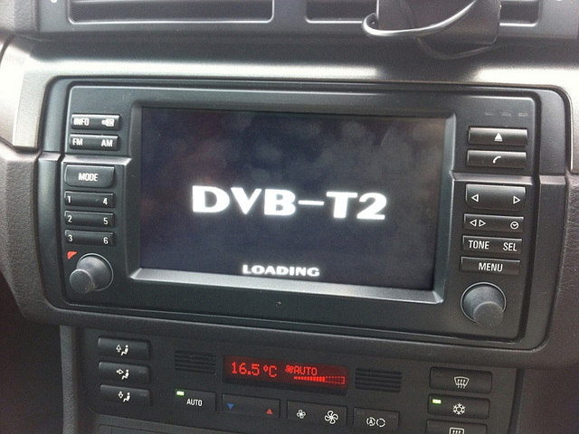 dvb t2 digital tv video module for bmw in tv. Black Bedroom Furniture Sets. Home Design Ideas