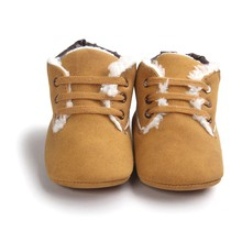 0-18M Winter Warm Baby Boys Girls prewalkers Shoes Newborn Infant Toddler Soft Rubber Soled Anti-slip Boots