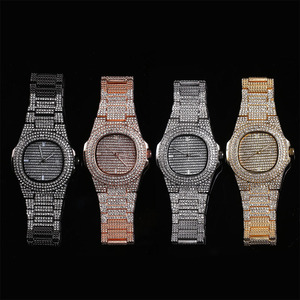Hip Hop Mens Watches Date Quar