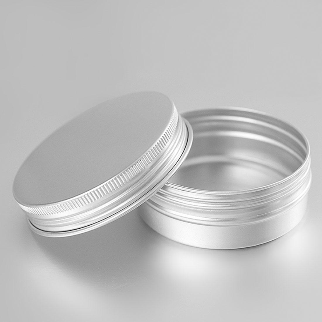 20g Aluminium Jar Tin Gift Box for Jewellery Earrings Craft Pots Lip Balm