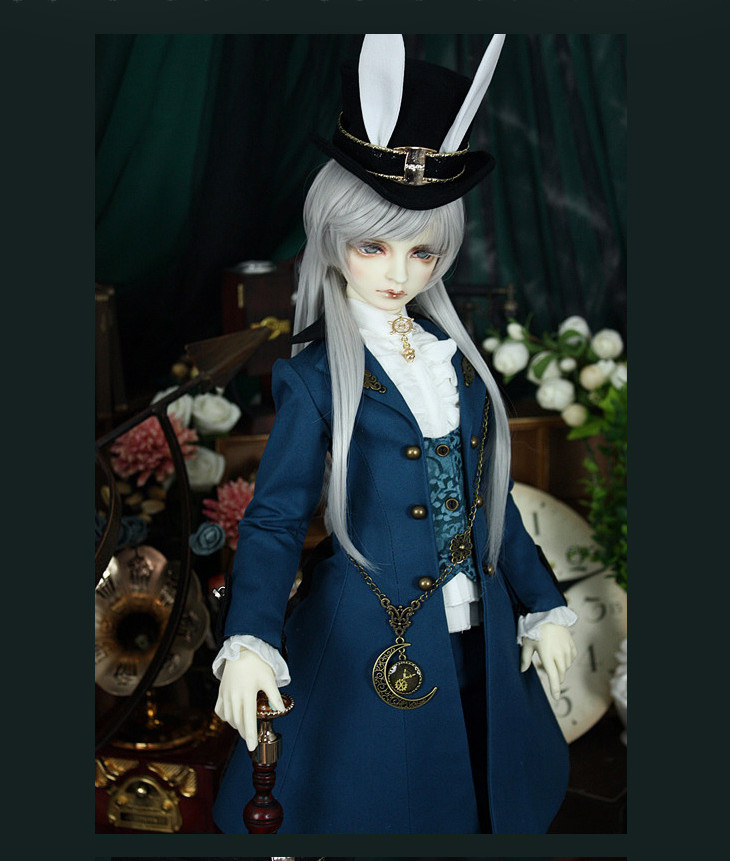 Mr Blue European Outfit Suit for BJD Doll 1/3 SD10 SD13 SD17 Uncle IP SOOM Doll Clothes LF63 fashion bjd doll retro black linen pants for bjd 1 4 1 3 sd17 uncle ssdf popo68 doll clothes cmb67