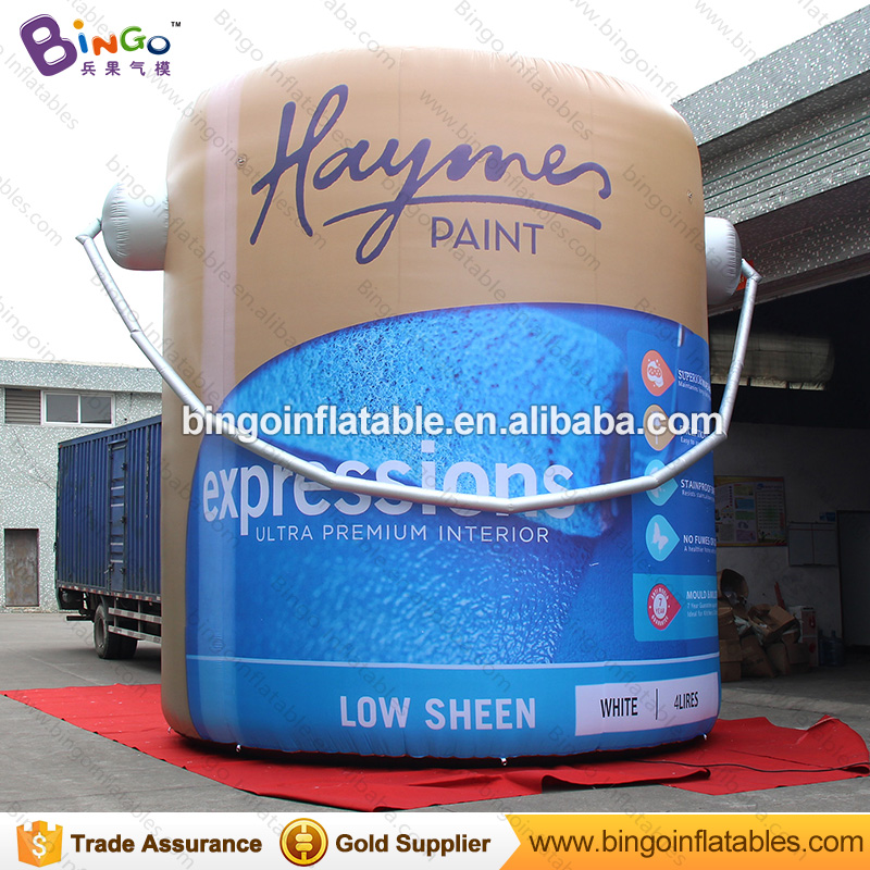 Free Delivery 5 Meters high giant inflatable oil can bottle replica advertising event blow up oil drums model toys