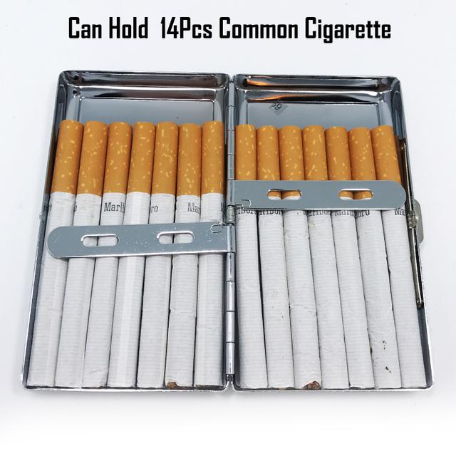 Exclusive 20 Patterns Lady Slim Cigarette Case Metal Slim Cigarette Case Box Woman Cigarette Holder Tobacco Box Cigarette Case