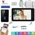 9 Inch Monitor RFID Video Intercom Wifi Draadloze Video Deurtelefoon Deurbel Camera Intercom Systeem Met Voeding Deurslot