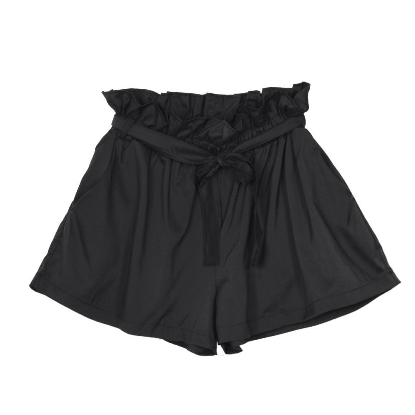 Womens shorts Women Casual Design High Waist Loose Fashionable Shorts Female With Belt july30