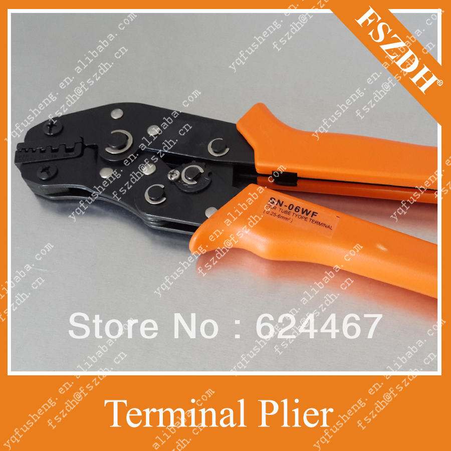 Crimping Pliers Wire Connectors the cold terminal crimping tools ...