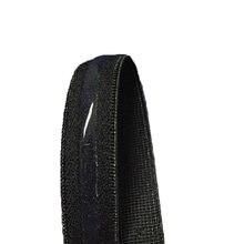 Kaymaz Şeffaf Silikon Elastik Bant Siyah Beyaz 10/12/15mm Yumuşak Kauçuk Elastik Kemer DIY dikiş Iç Çamaşırı Aksesuarları 5 M