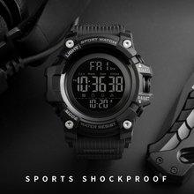 87c46440b76e SKMEI cronómetro cuenta atrás reloj deportivo relojes para hombre Top marca  de lujo reloj hombre impermeable LED Digital electró.