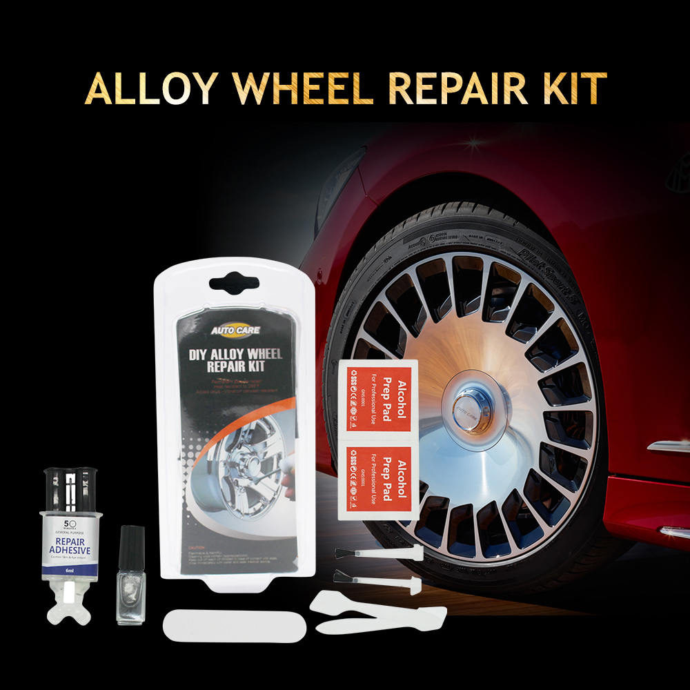 Auto font b Care b font DIY Alloy Wheel Repair Kit Silver Paint Fix Tool for