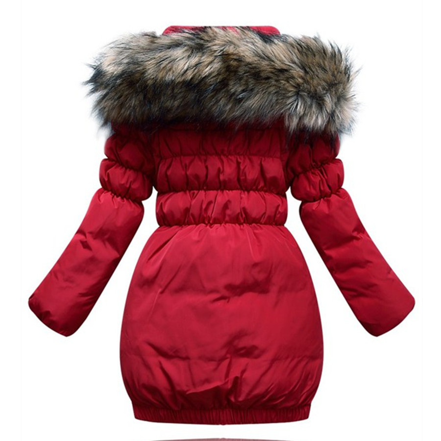Aliexpress.com : Buy Girls Winter Down Jacket Children Hoodies ...