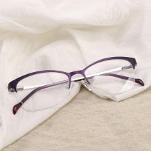 Semi-rim Prescription Eyeglasses Women Progressive Photochromic Anti Blue Light Reading Computer Optical Clear Spectacles #276