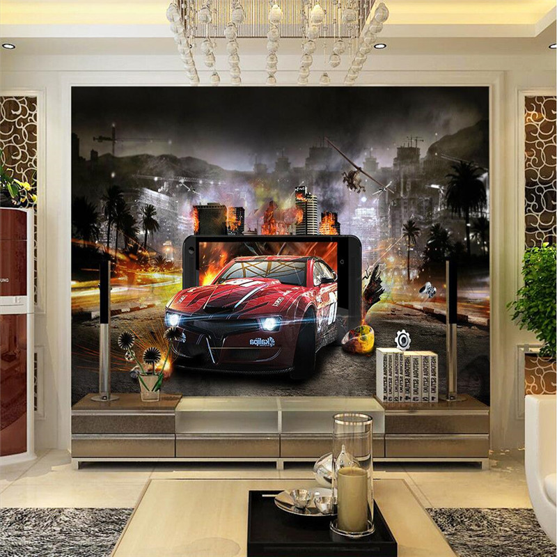 Wall Paper 3d Movie Story Car Style Mobile Game Screen