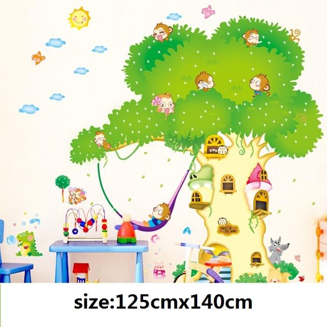 Rumah Pohon Kartun Ashleysclosetstore
